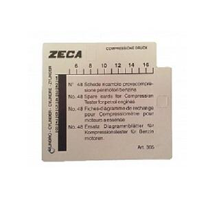 Комплект карточек к компрессографу ZECA-362