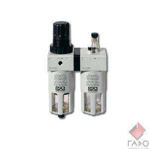 Блок подготовки воздуха с лубрикатором и регулятором давления 1/4 дюйма FRL-180
